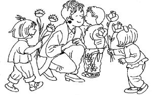 ζωγραφιές για τη γιορτή της μητέρας